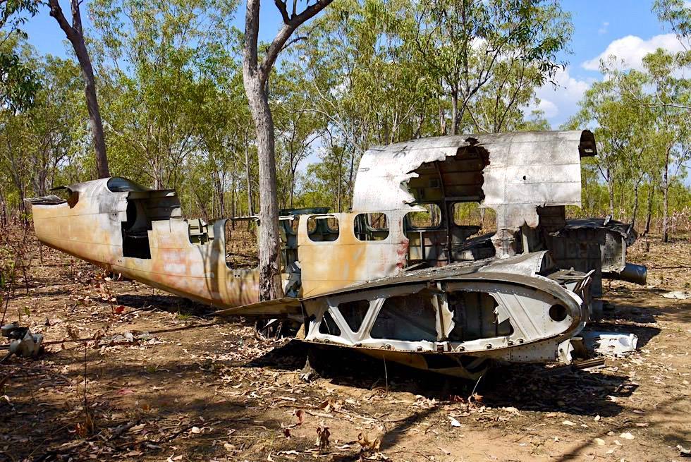 Kalumburu - Japanische Flugzeugtrümmer aus dem 2. Weltkrieg - Kimberley - Western Australia