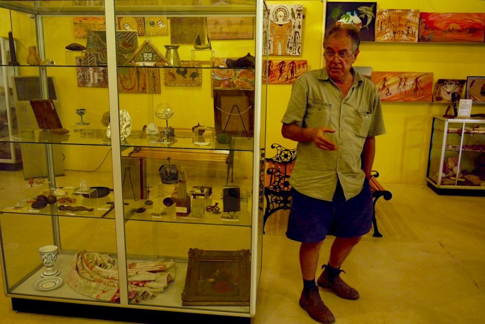 Führung durch das Kalumburu Missions-Museum - Kimberley - Western Australia
