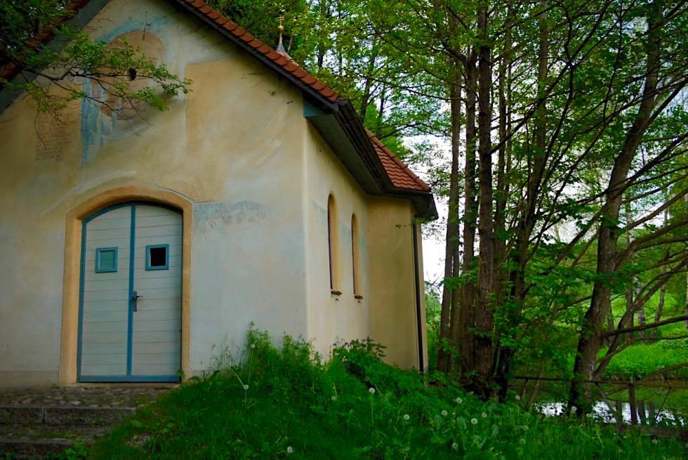 Katzbrui - Kapelle & Forellenteich - Wandertrilogie Allgäu - Bayern