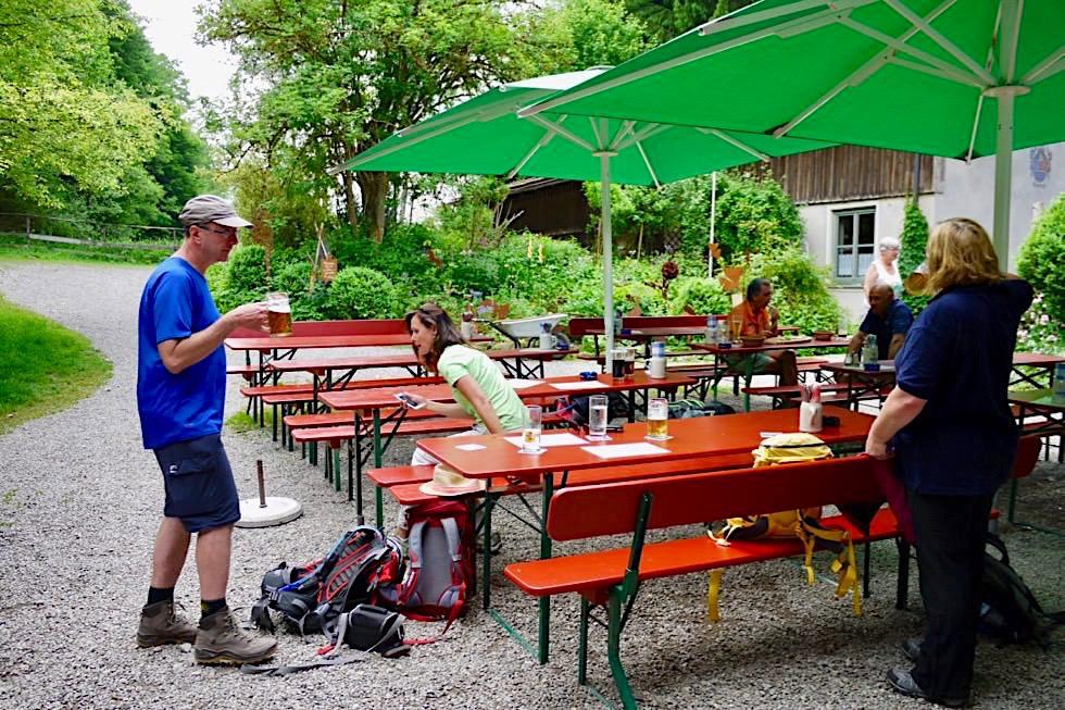 Katzbrui Mühle & Biergarten - Wiesengänger Route - Wandertrilogie Allgäu - Bayern