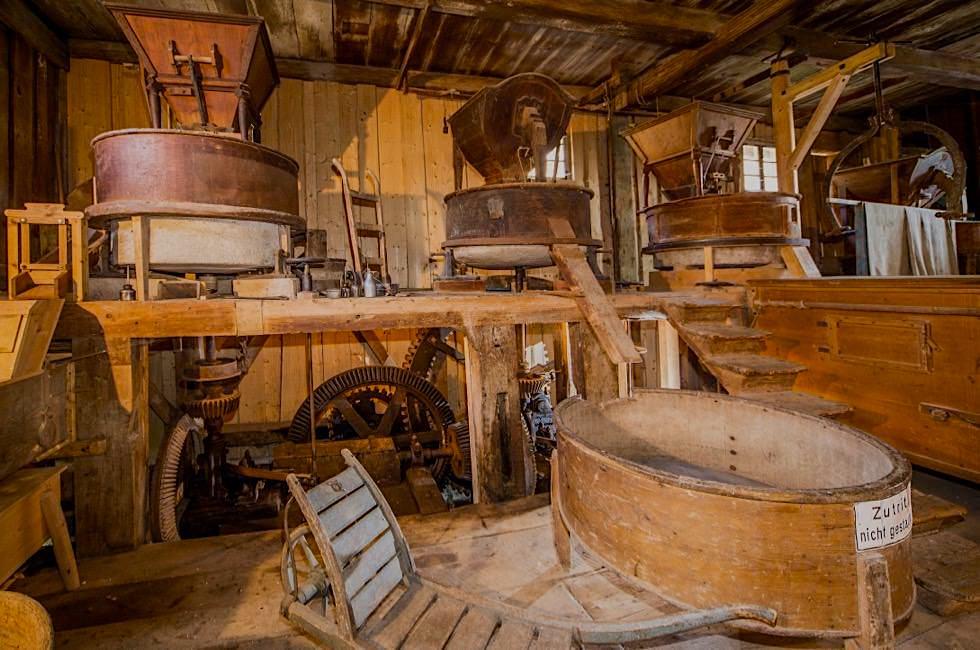 Katzbrui Mühle & Museum - Ende der Wiesengänger Etappe 02 - Wandertrilogie Allgäu - Bayern