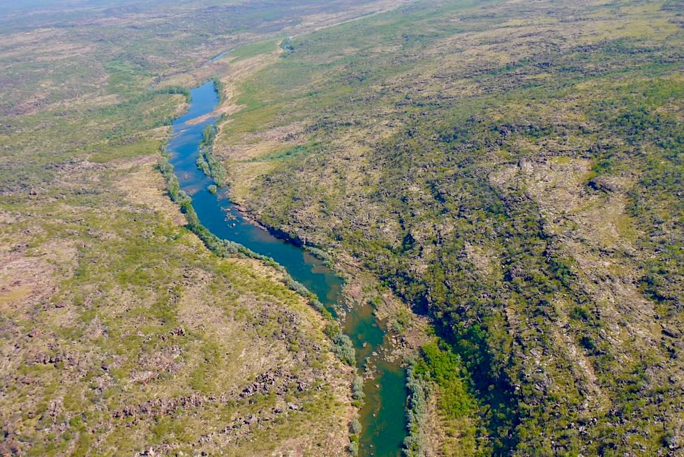 Kingfisher Scenic Flight - Mitchell River National Park - Kimberley - Western Australia