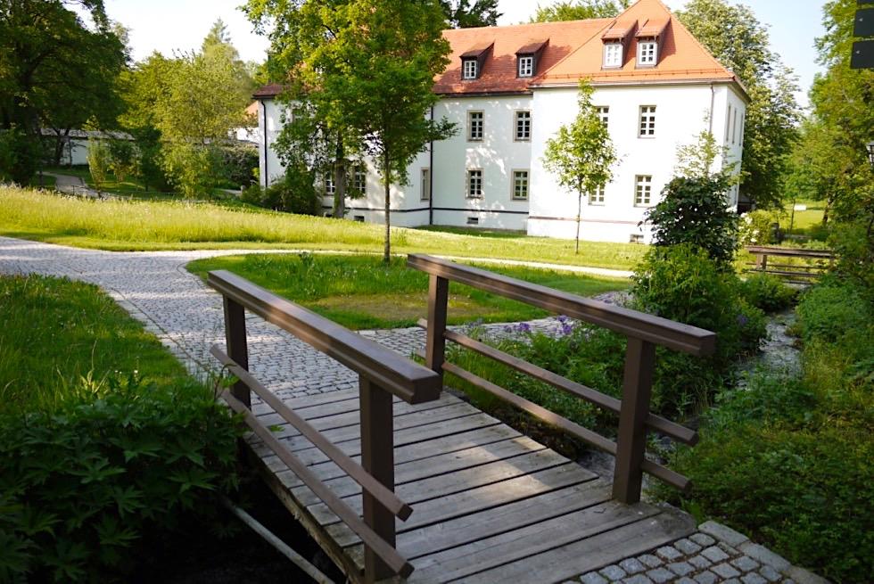 Kloster Irsee & Park - Wiesengänger Route - Allgäu - Bayern