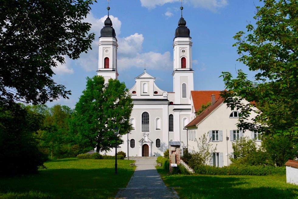 Kloster Irsee - Sehenswürdigkeit auf der Wiesengänger Route - Wandertrilogie Allgäu - Bayern