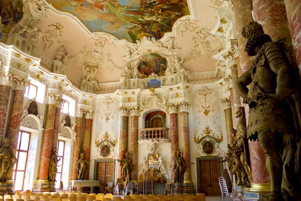 Kloster Ottobeuren - faszinierend schöner Kaisersaal - Allgäu - Bayern