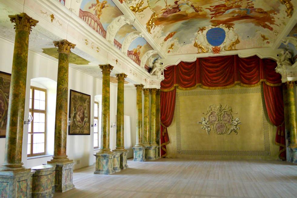 Kloster Ottobeuren - Barocker Theatersaal - Allgäu - Bayern