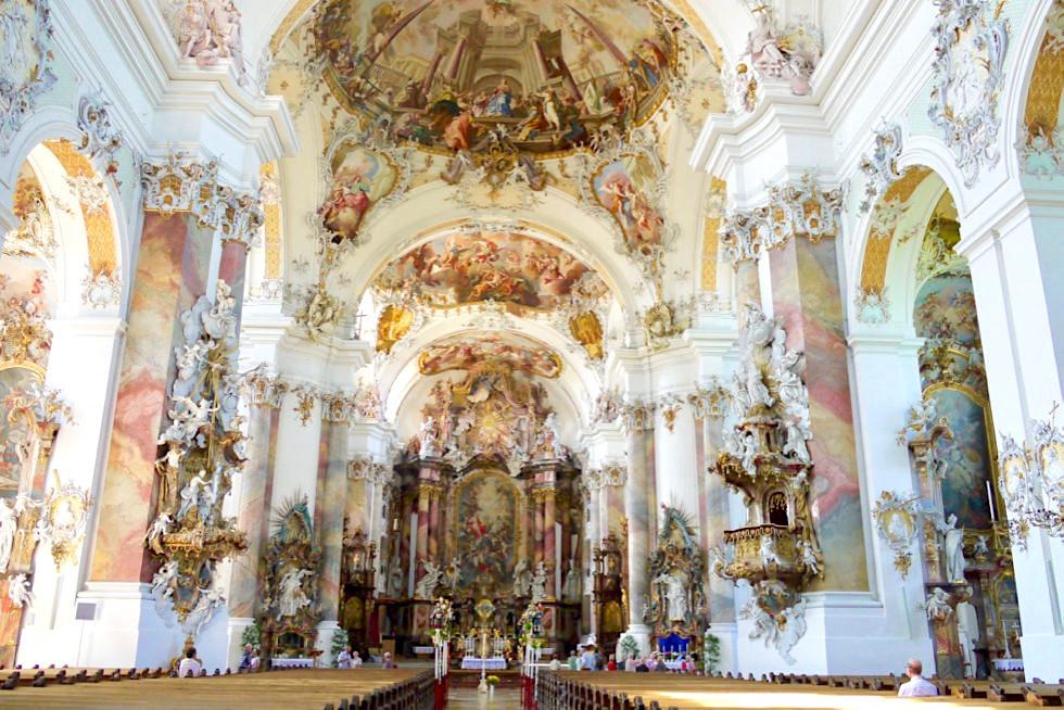 Klosterkirche Ottobeuren - eines der Hauptwerke des europäischen Spätbarock - Allgäu - Bayern