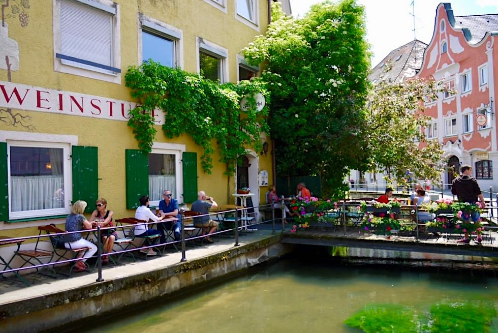Memmingen - Altstadt & Idyllische Gaststädten an der Memminger Ach - Allgäu - Bayern