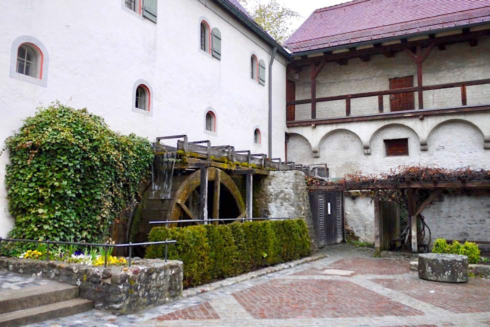 Wiesengänger Route: Mühle & Stadtmauer - Wangen im Allgäu - Baden Württemberg