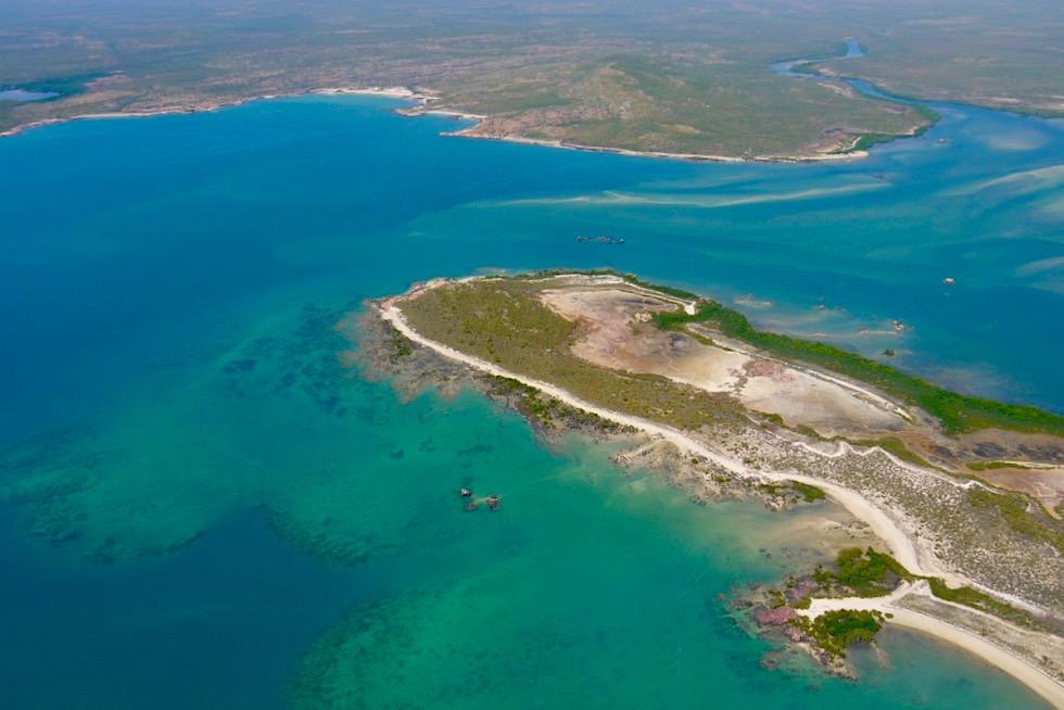 Faszinierend schöne Küstenlinie: Napier Broome Bay - Kimberley Nordosten - Western Australia