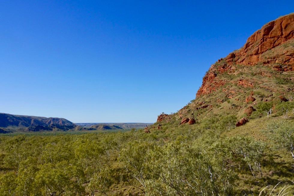 Osmand Lookout & Ausblick auf Osmand Ranges - Echidna Chasm - Purnululu National Park & Bungle Bungle - Kimberley, Western Australia