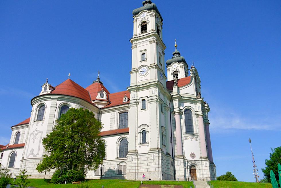 Ottobeuren - prunkvolles, majestätisches, barockes Kloster & Kirche von außen - Allgäu - Bayern