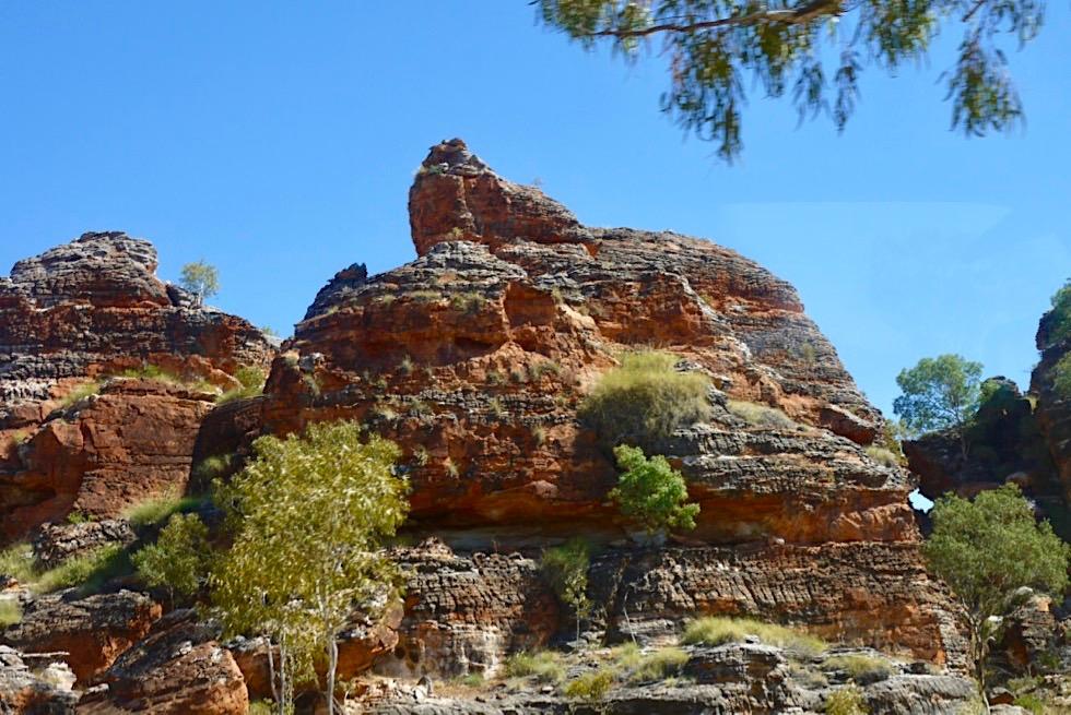 Fahrt zum Piccaninny Parkplatz - Purnululu National Park - Kimberley, Western Australia
