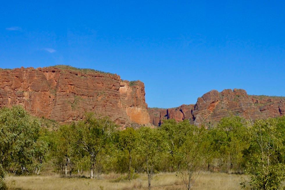 Purnululu National Park - Hochplateau im Nordwesten - Kimberley, Western Australia