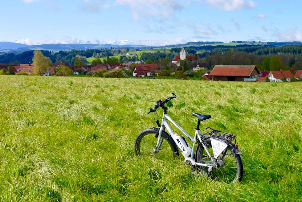Radrunde Allgäu - Mit dem Fahrrad durch die Erlebniswelt Heimatstätten - Fernradewegenetz - Bayern