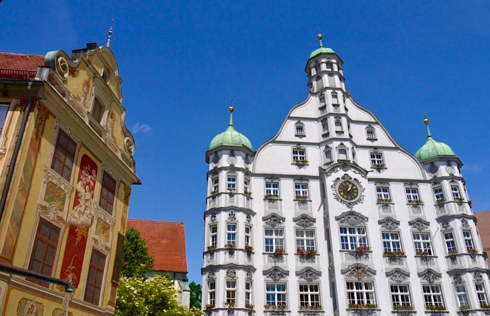 Steuerhaus & Rathaus - Altstadt Memmingen & Marktplatz - Allgäu - Bayern