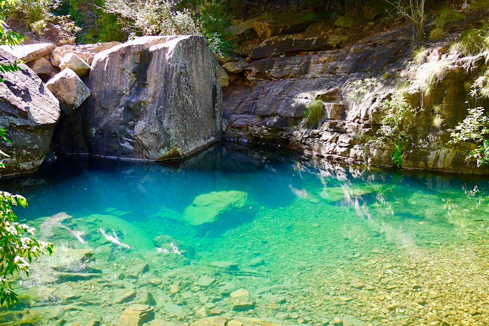 Turquoise Pool - Herrlicher Badepool der Emma Gorge - Kimberley - Western Australia