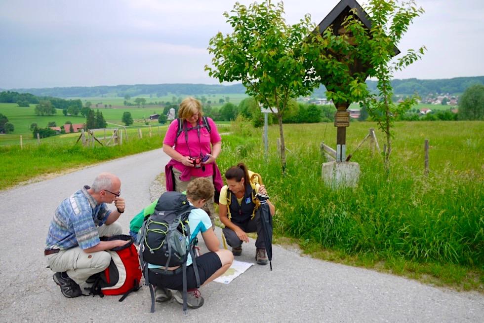 Wandertrilogie Allgäu - Wiesengänger Route Etappe 02 - Wegkreuzung - Bayern