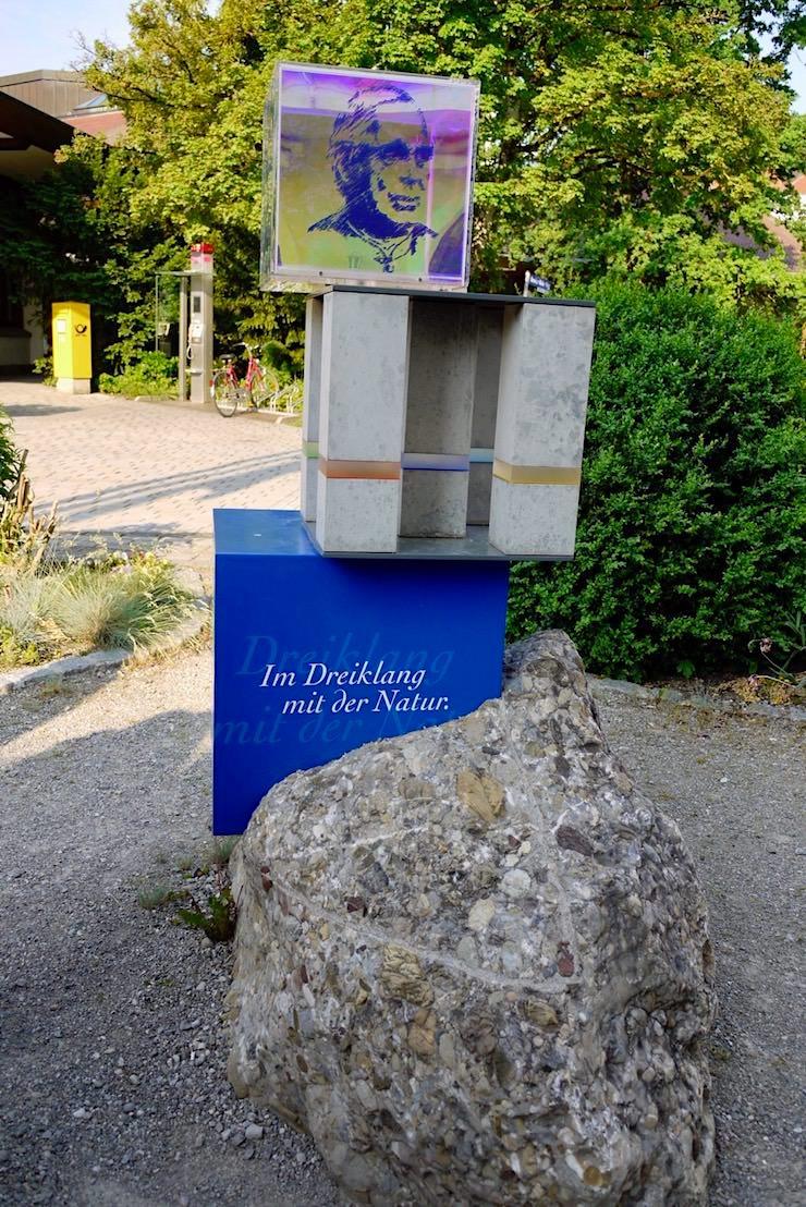 Wandertrilogie Wiesengänger Route - Themen-Skulptur von Bad Wörishofen - Allgäu - Bayern