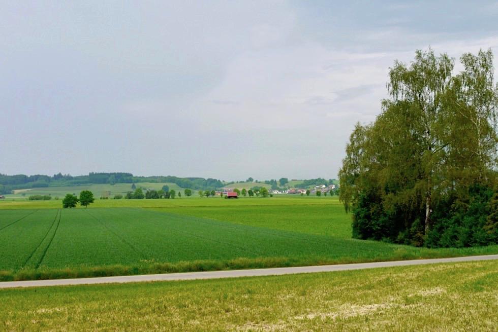 Wiesengänger Etappe 02 - idyllisch gelegene Dörfer: mal nah mal fern - Wandertrilogie Allgäu - Bayern