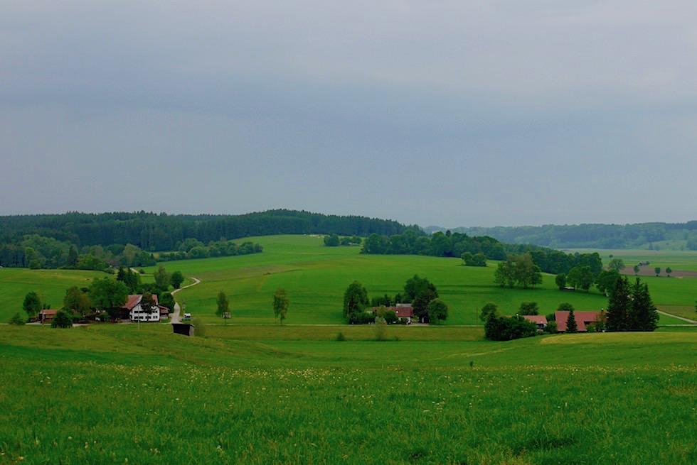 Wiesengaenger Etappe 02 - Nahe Kloster Irsee - Wandertrilogie Allgäu - Bayern