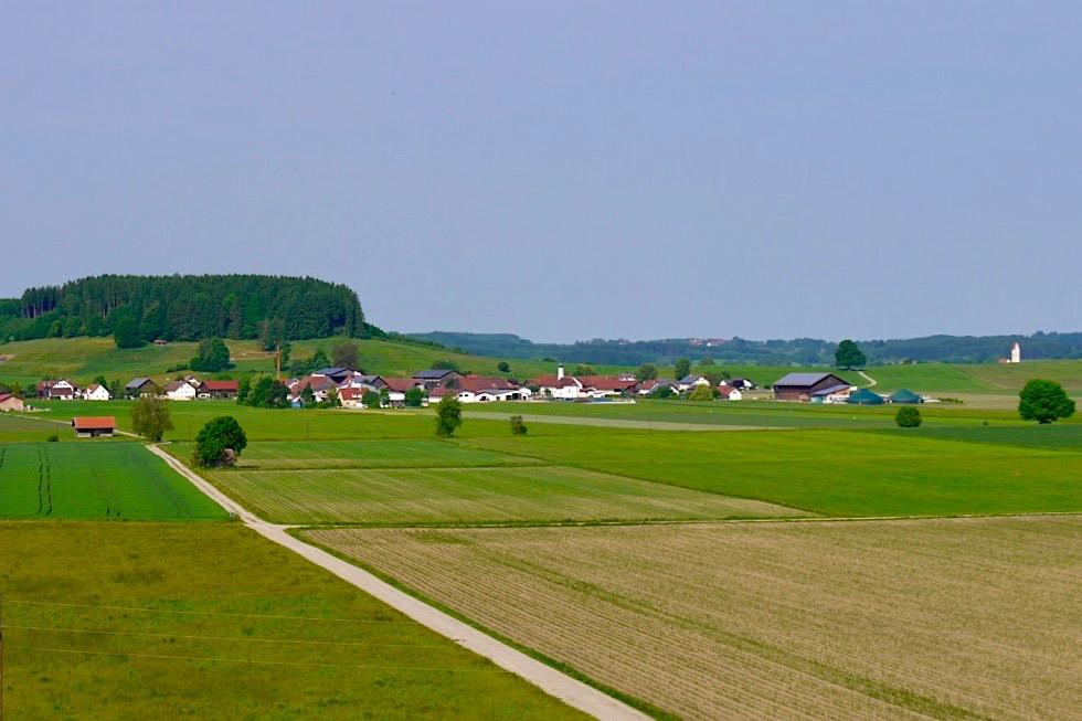 Wiesengänger Etappe 03 - Dirlewang typisches Allgäuer Dorf - Bayern