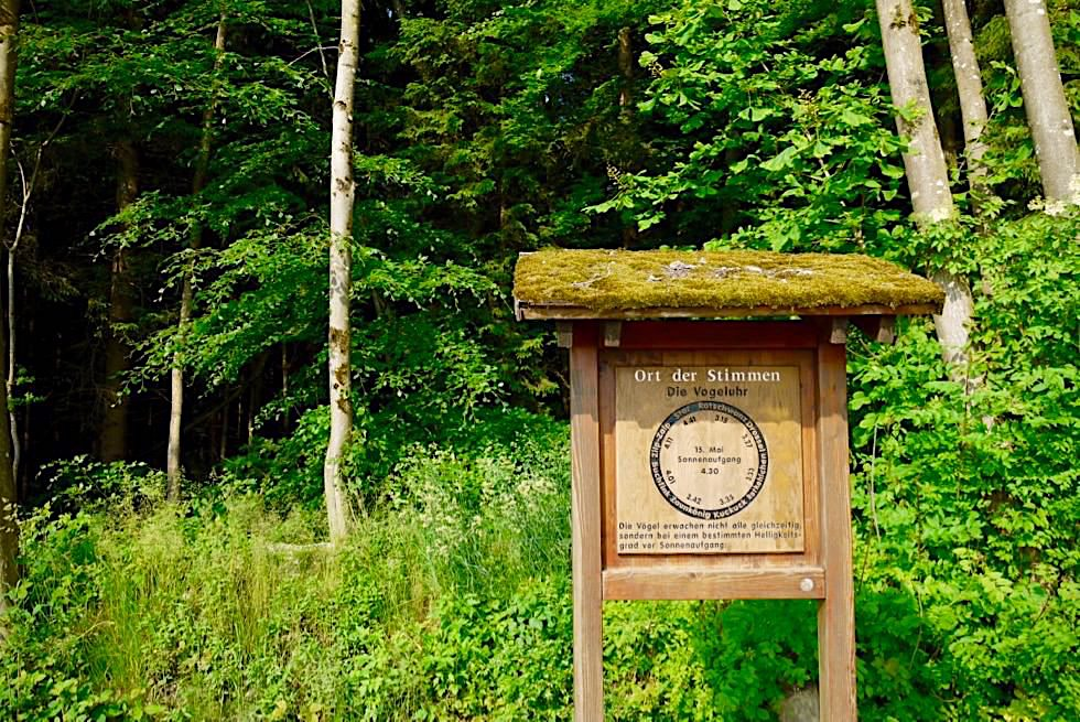 Wiesengänger Etappe 03 - Ort der Vogelstimmen - Wandertrilogie Allgäu - Bayern