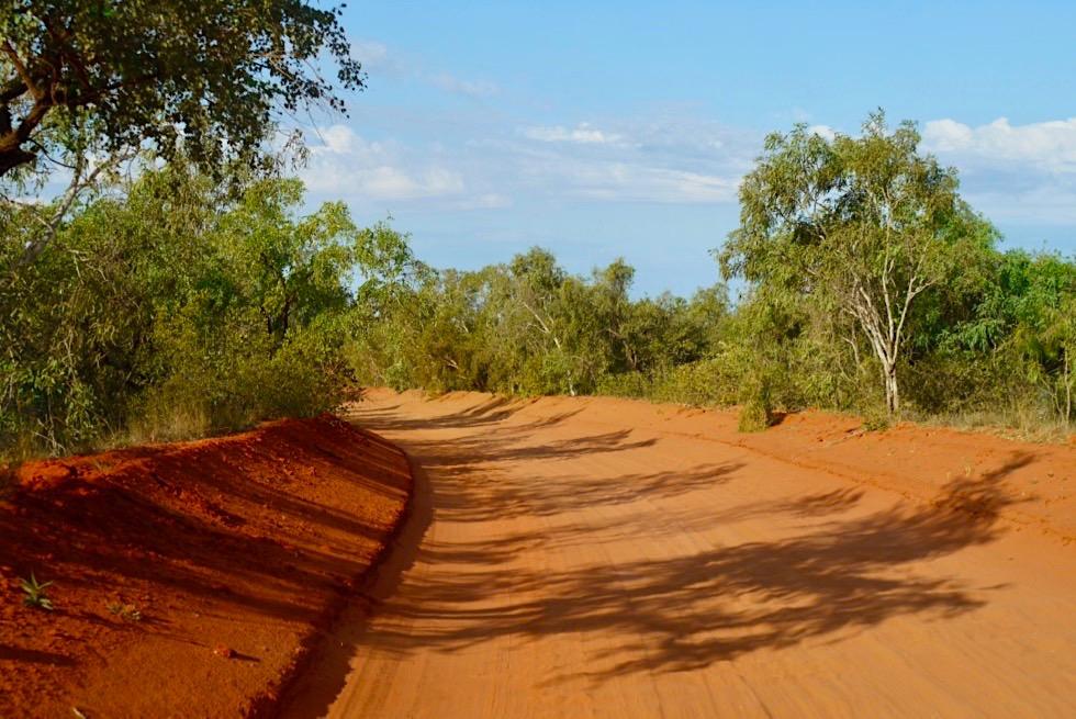 Willie Creek Pearl Farm - Piste & Zufahrt zur Perlenfarm - Broome - Kimberley, Western Australia