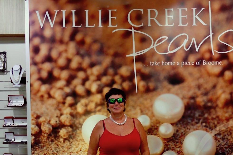 Willie Creek - Südsee Perlen - Verkaufshop - Kimberley - Western Australia