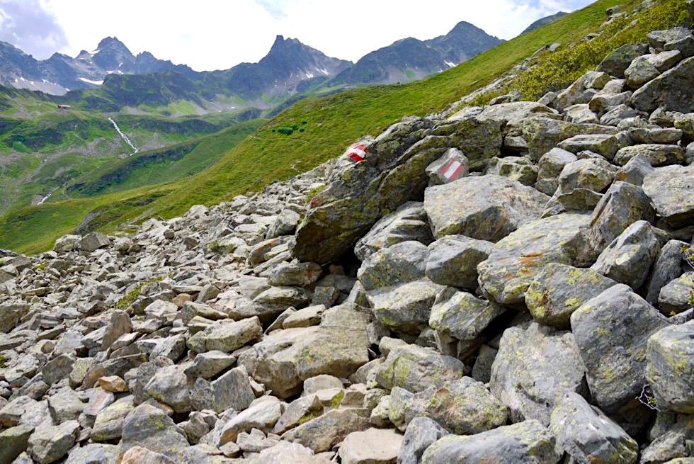 Schöner Aufstieg zur Niederelbehütte von Kappl aus - Verwall Gruppe - Paznaun, Tirol - Österreich