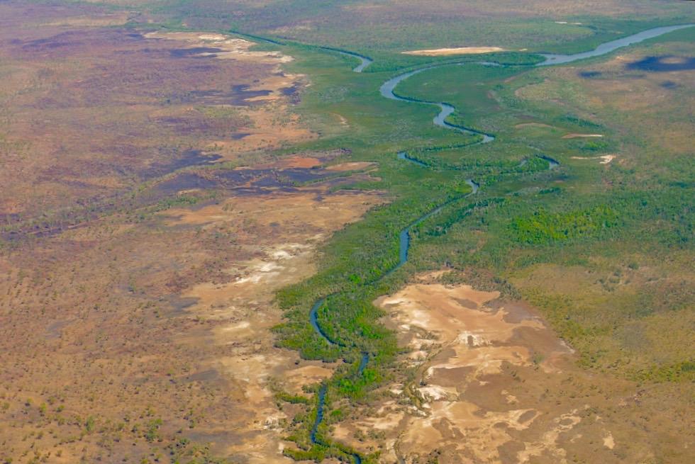 Faszination Kimberley - Ausblick auf Drysdale River nahe der Napier Broome Bay - Outback - Western Australia
