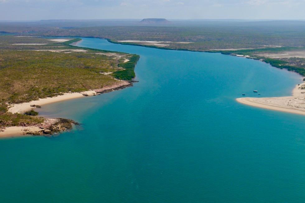 Wo der Berkley River in die Timor See mündet - Kimberley Nordküste - Western Australia