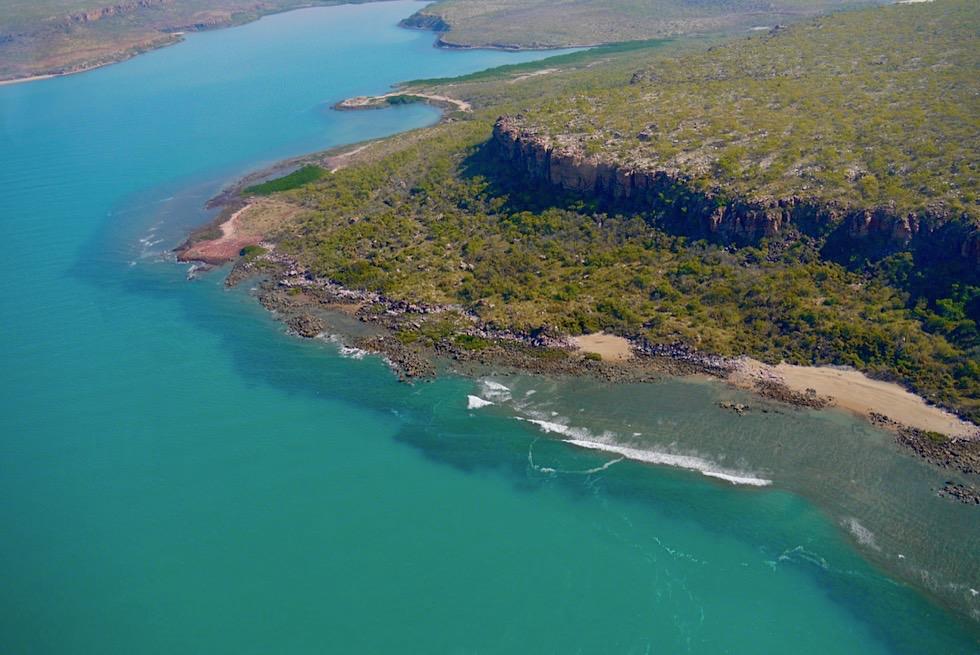 Berkley River Nebenarme & schroffe Felsplateaus - Kimberley Outback - Western Australia