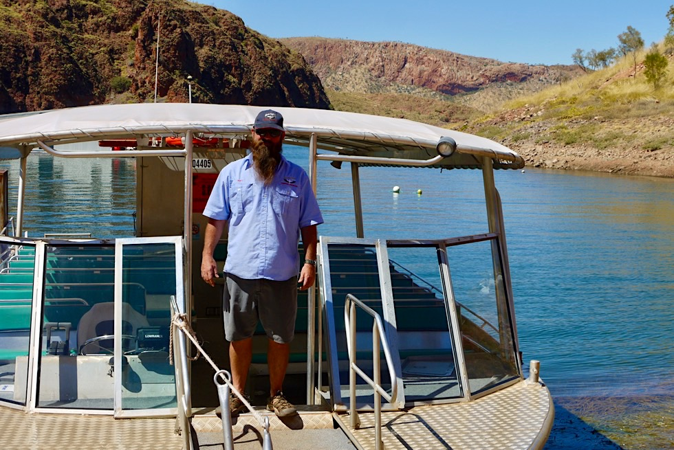 Best of Lake Argyle - Lake Argyle Cruises: Bootstour mit Matt - Kimberley - Western Australia