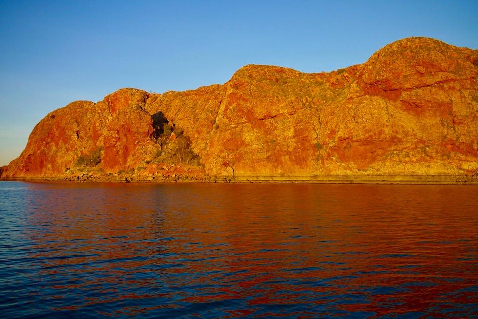 Best of Lake Arygle Cruise - Sonnenuntergang mit feurigem Felsen - Kimberley - Western Australia