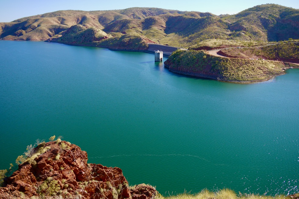 The Bluff Lookout - Lake Argyle & Damm - Kimberley, Western Australia