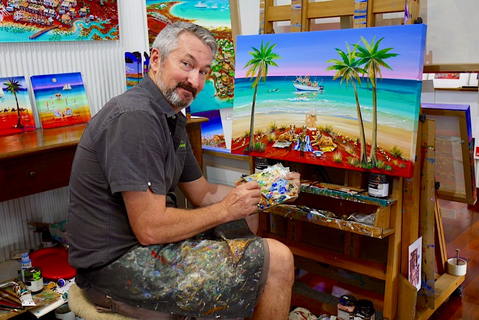 Schönste Art Gallery in Broome: Broome Gallery - James Down - Kimberley - Western Australia