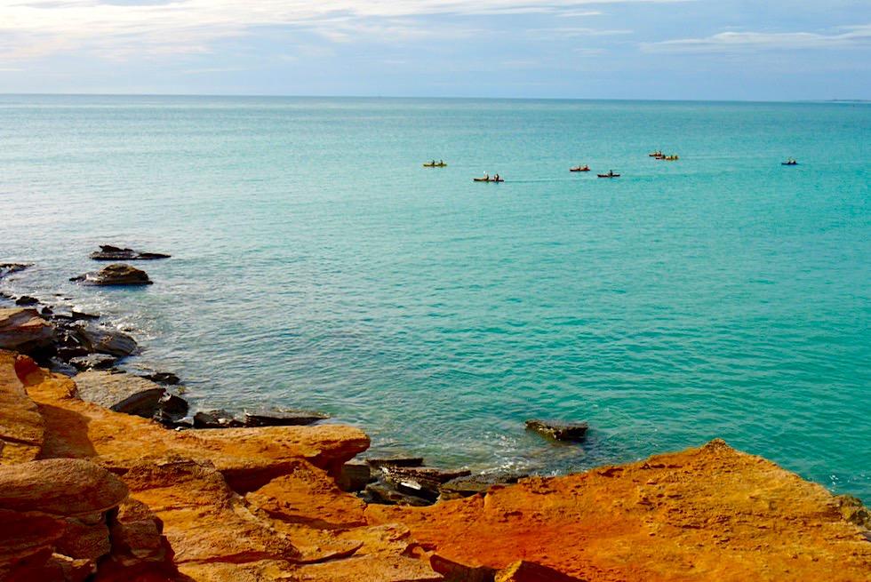 Broome - Beliebt: Kajak Ausfahrten in den Sonnenuntergang - Kimberley - Western Australia