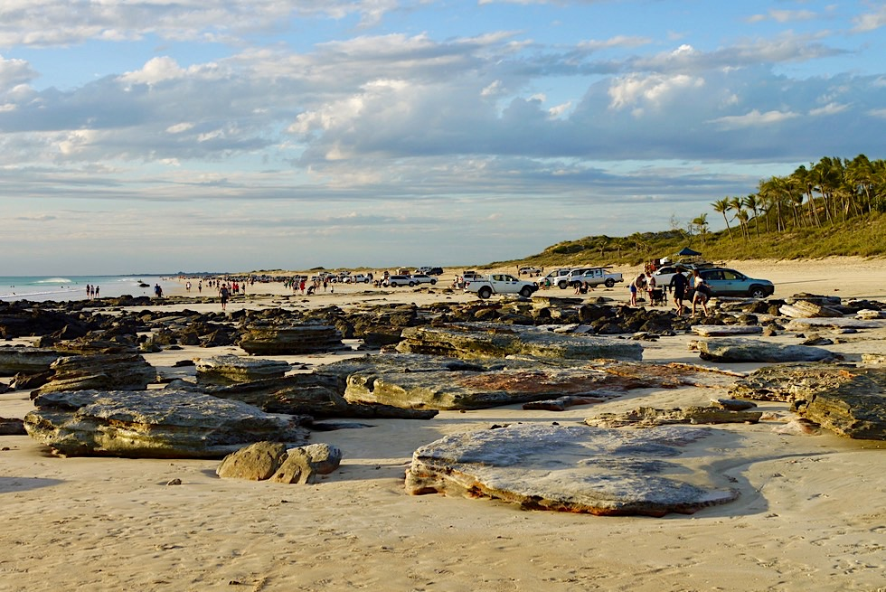 Cable Beach - mit dem 4WD zum Sonnenuntergang - Kimberley - Western Australia