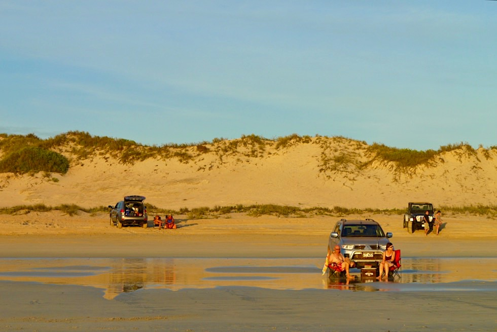 Cable Beach bei Broome - Warten auf den Sonnenuntergang - Kimberley - Western Australia