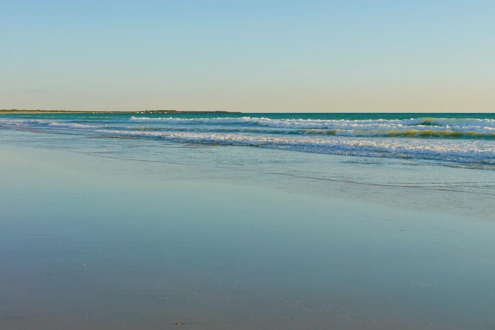 Cable Beach am türkisfarbenen Indischen Ozean - Broome, Kimberley - Western Australia