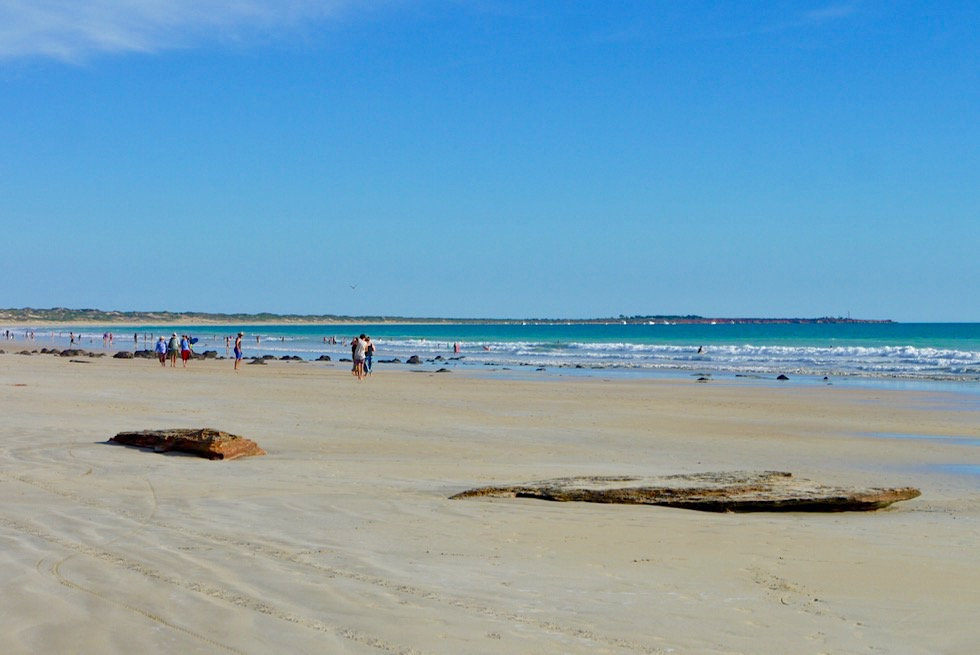 Cable Beach - Strand & Indischer Ozean - Broome, Kimberley - Western Australia