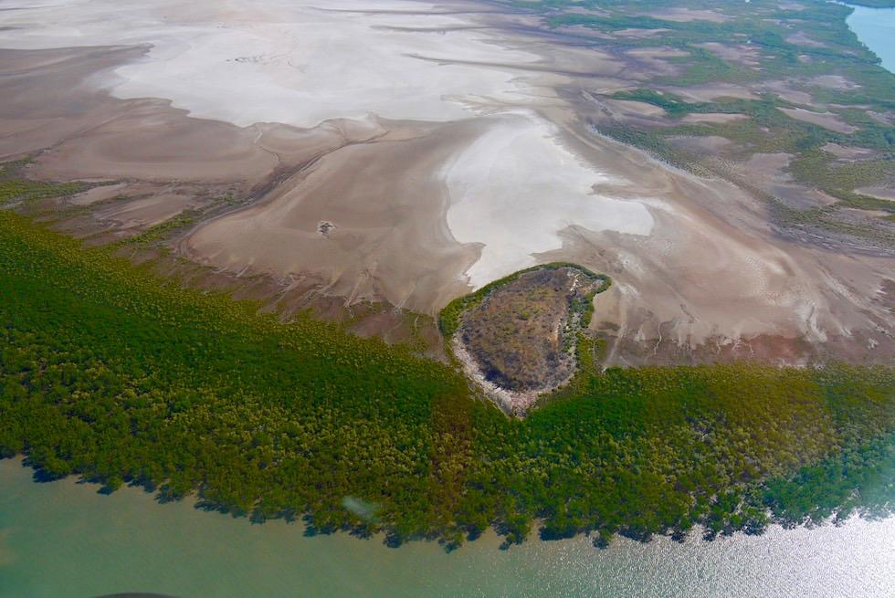 Cambridge Gulf bei Wyndham: Faszinierende Schwemmlandschaft mit Wasseradern & Mangroven - Kimberley Outback - Western Australia