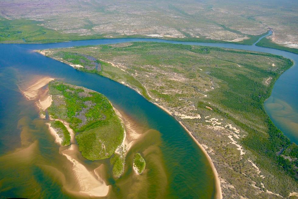 Drysdale River - Faszination Kimberley & Flussdelta aus der Vogelperspektive - Western Australia