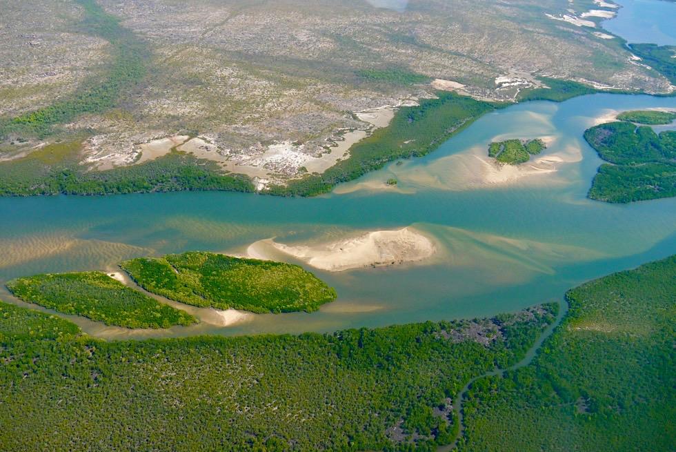 Kimberley: der unberührte Norden - Drysdale River - Flussdelta an der Napier Broome Bay - Western Australia