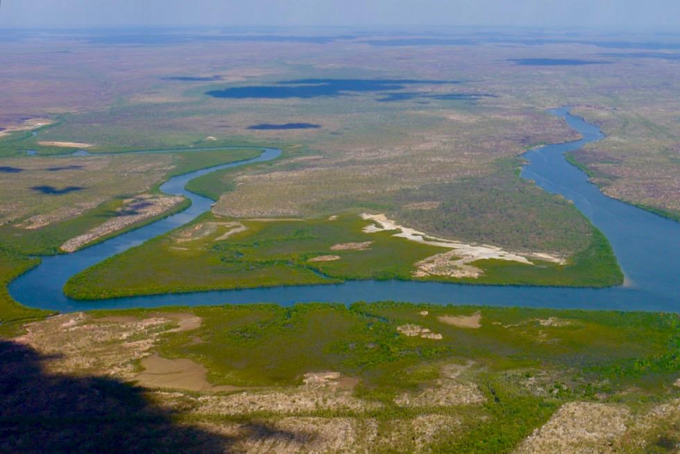 Drysdale River - Mündungsarme im Kimberley Outback nahe Napier Broome Bay - Western Australia