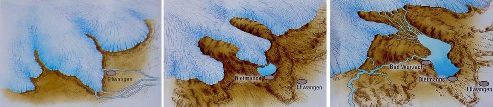 Entstehung Wurzacher Ried - Eiszeit