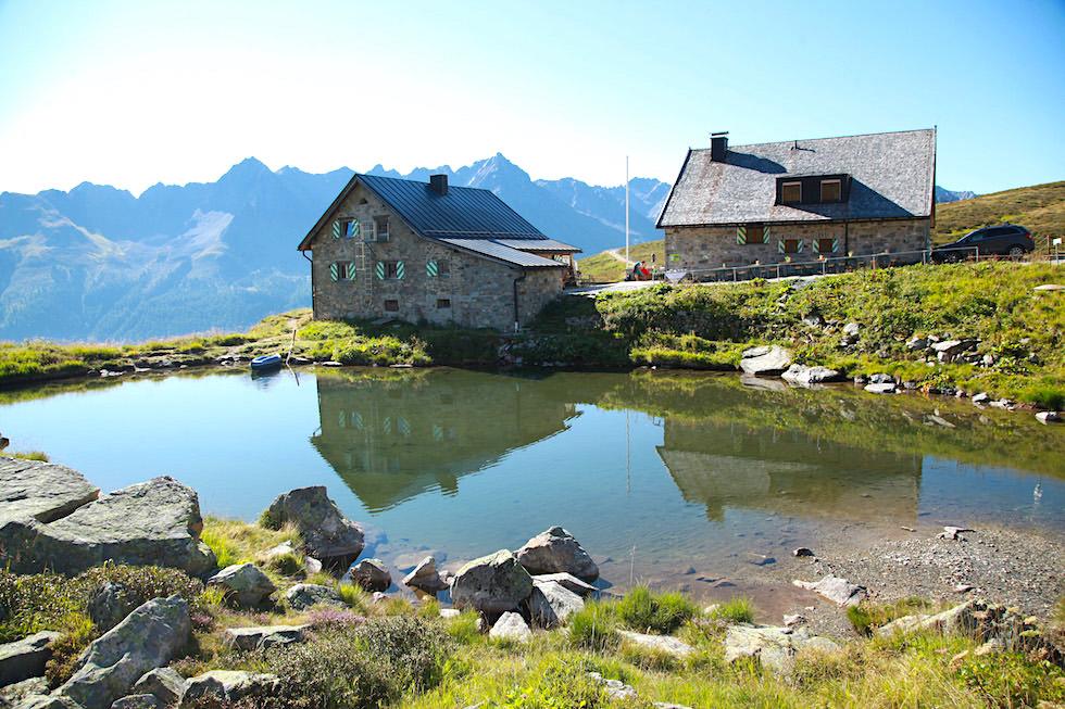 Friedrichshafener Hütte bei Ischgl - Paznaun, Tirol - Österreich