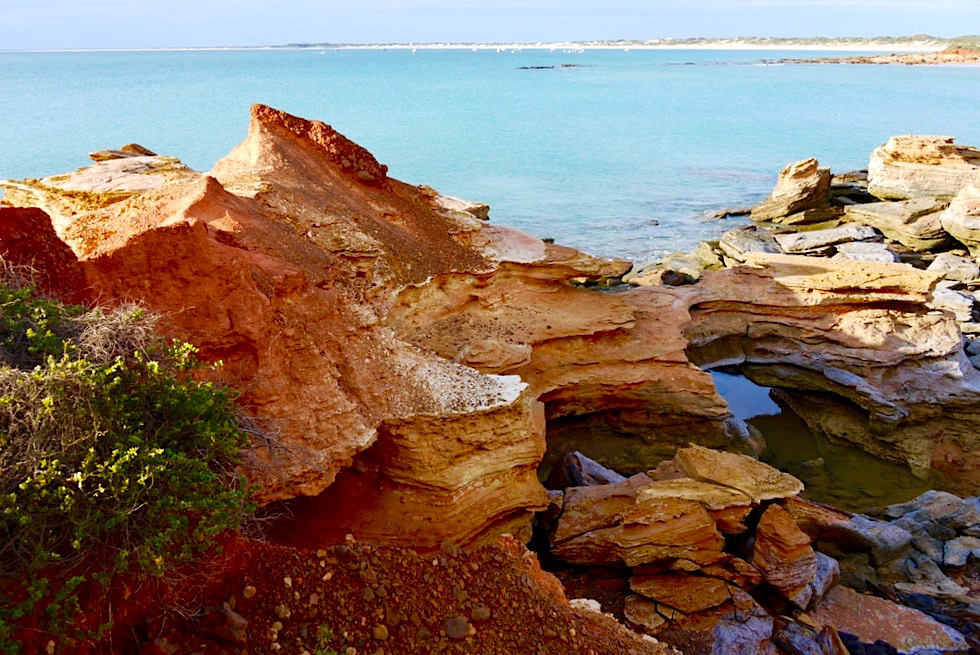 Gantheaume Point - Ausblick auf Cable Beach - Broome, Kimberley - Western Australia