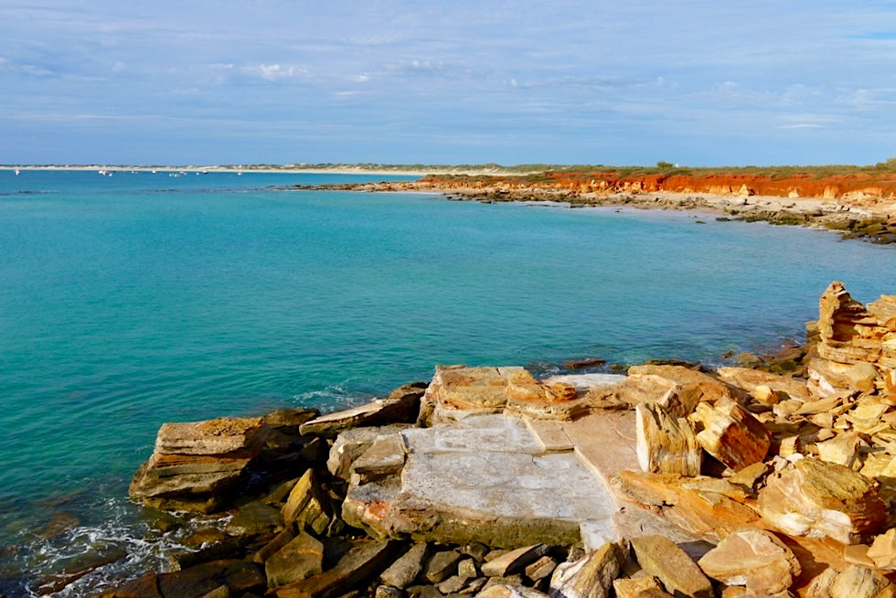 Gantheaume Point mit Blick auf Cable Beach - Broome, Kimberley - Western Australia